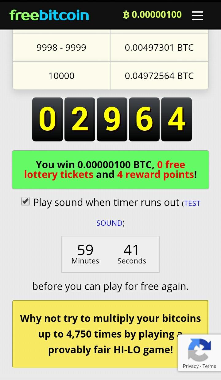 Freebitco Earn Free Bitcoin Every Hour Cryptoaltdroper -