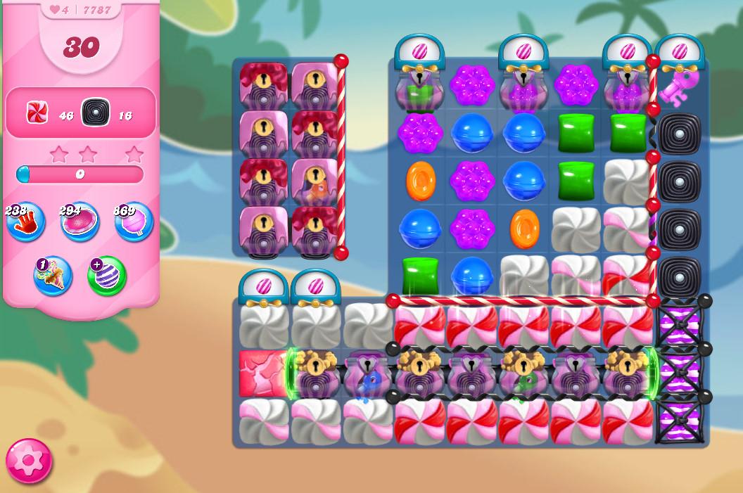 Candy Crush Saga level 7787