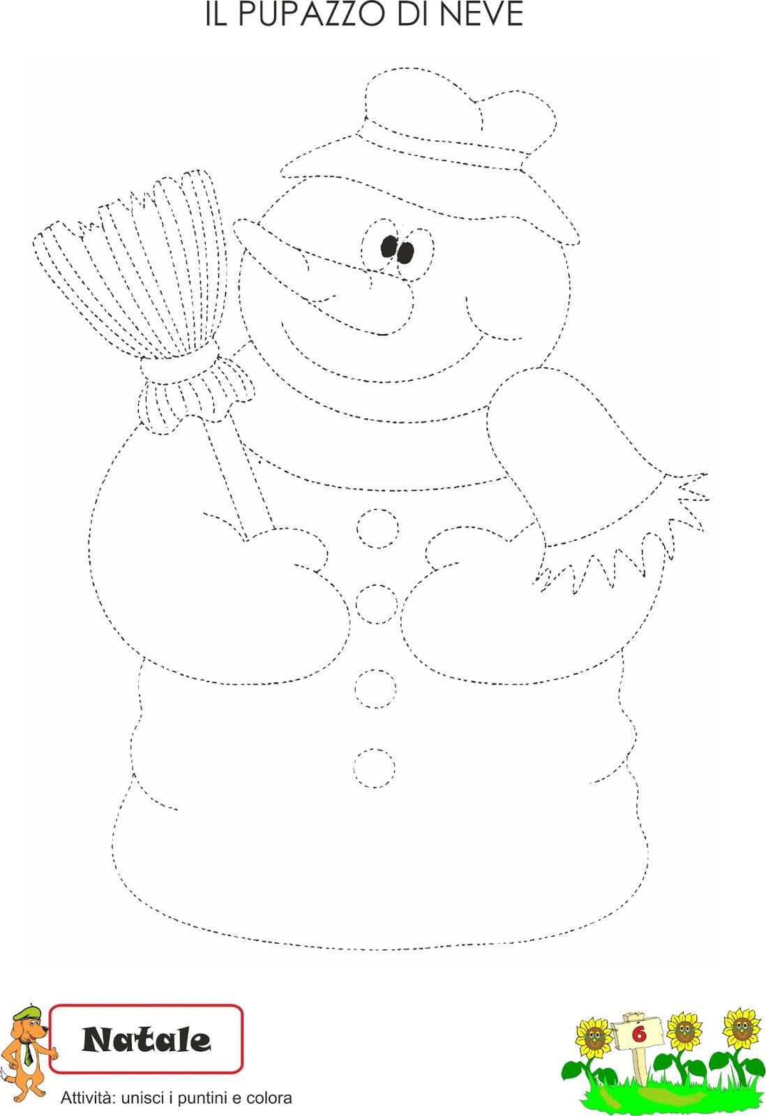Favorito A Scuola con Poldo: Schede didattiche inverno DQ86