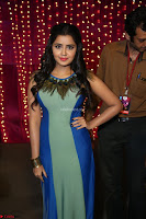 Anupama Paramesvaran in beautiful Sleeveless Gown at Zee Telugu Apsara Awards 2017 12.JPG