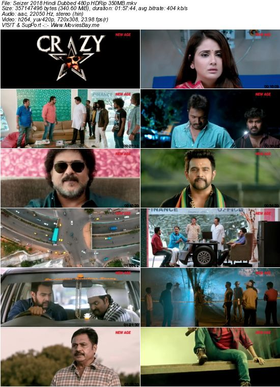 Seizer 2018 Hindi Dubbed 480p HDRip 350MB worldfree4u