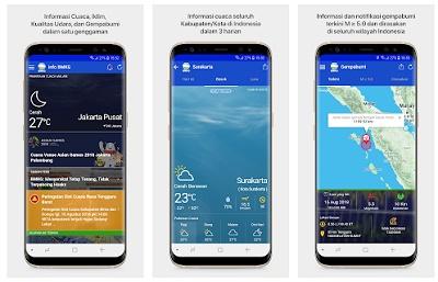 aplikasi pendeteksi gempa bumi android