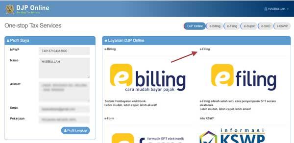 memilih jenis layanan DJP online sesuai kebutuhan