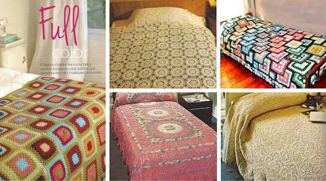19 Colchas a Crochet - Patrones para Descargar