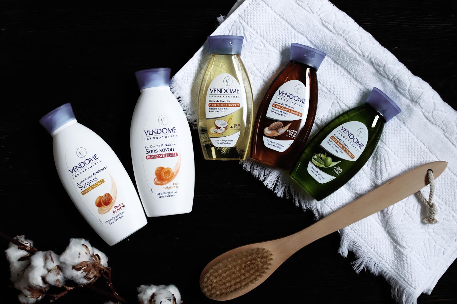 vendome creme huile de douche micellaire sans effet gras avis test