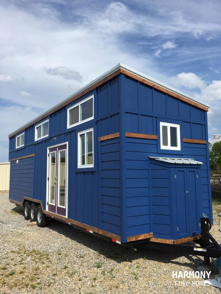 Tiny House Town Blue Moon From Harmony Tiny Homes
