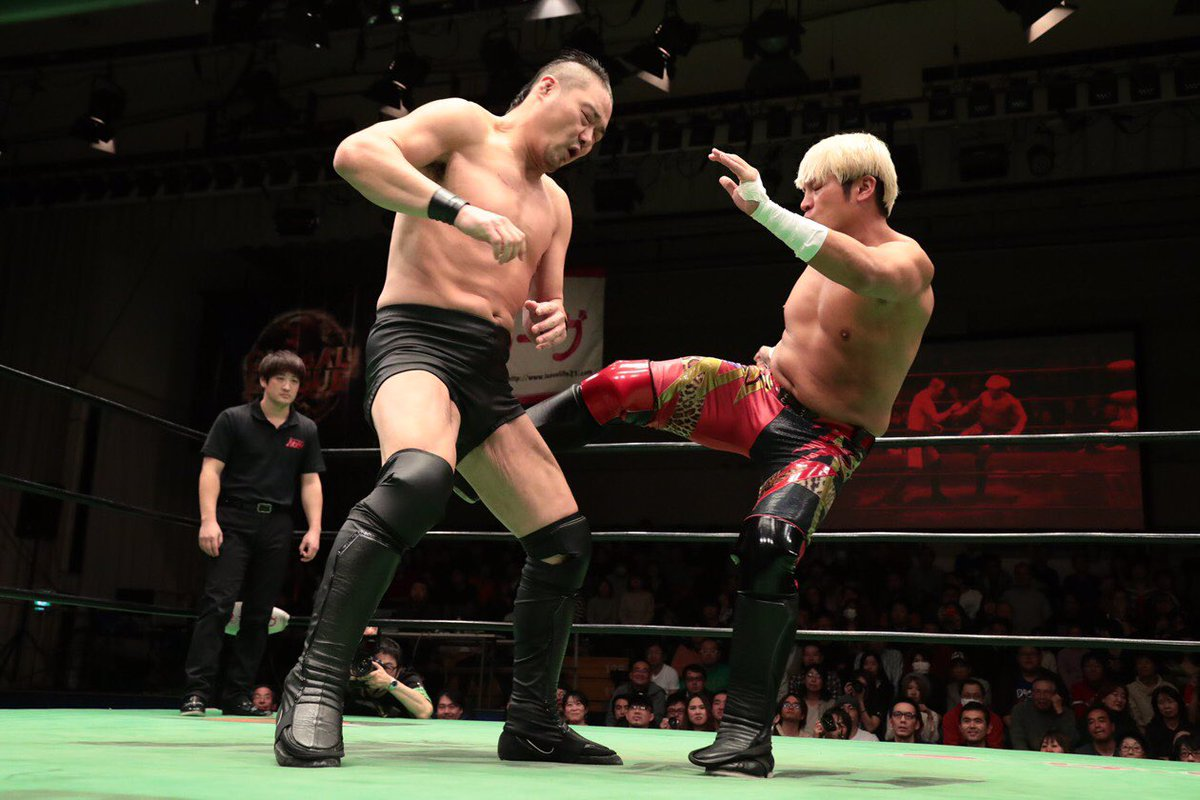 f71a3ea931 Due to Naomichi Marufuji no longer being able to face Kaito Kiyomiya in the  finals, Noah came up with the solution that the three highest scorers in A  Block ...
