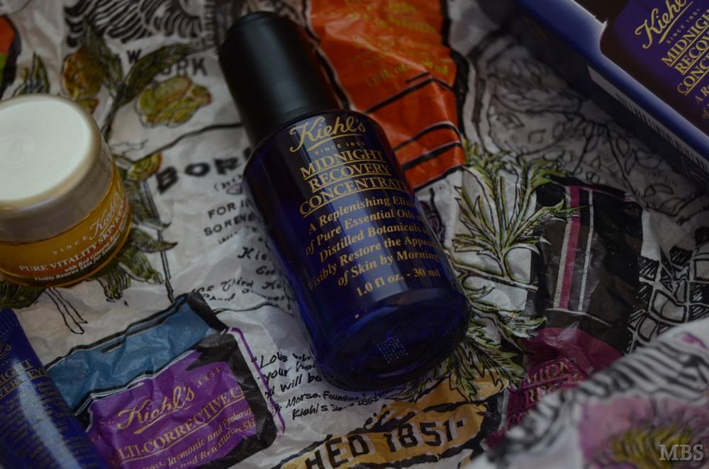 Kiehl's Midnight Recovery linija + Cactus Flower & Tibetan Ginseng Hydrating Mist & Pure Vitality Skin Renewing Cream