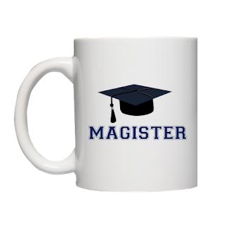 prezent po obronie - Kubek Magister