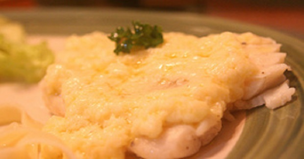 Steamed Tilapia Fillets In Mornay Sauce (Cheesy Bechamel) Recipe
