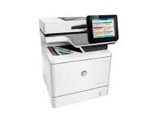 Picture HP Color LaserJet Enterprise Flow MFP M577c Printer