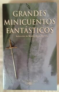 Portada del libro Grandes minicuentos fantásticos, de varios autores