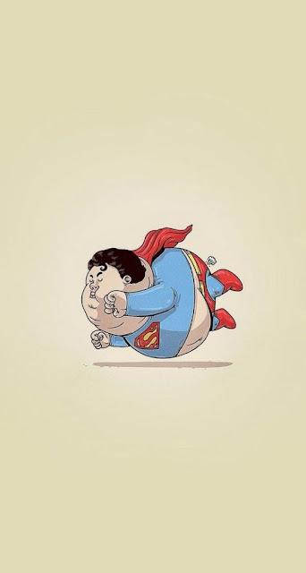 superman, grasso, ciccione, volare,