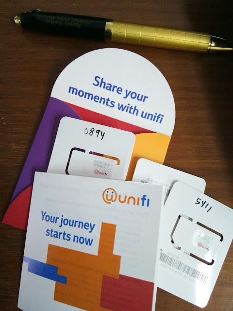 Simkad Unifi Mobile percuma