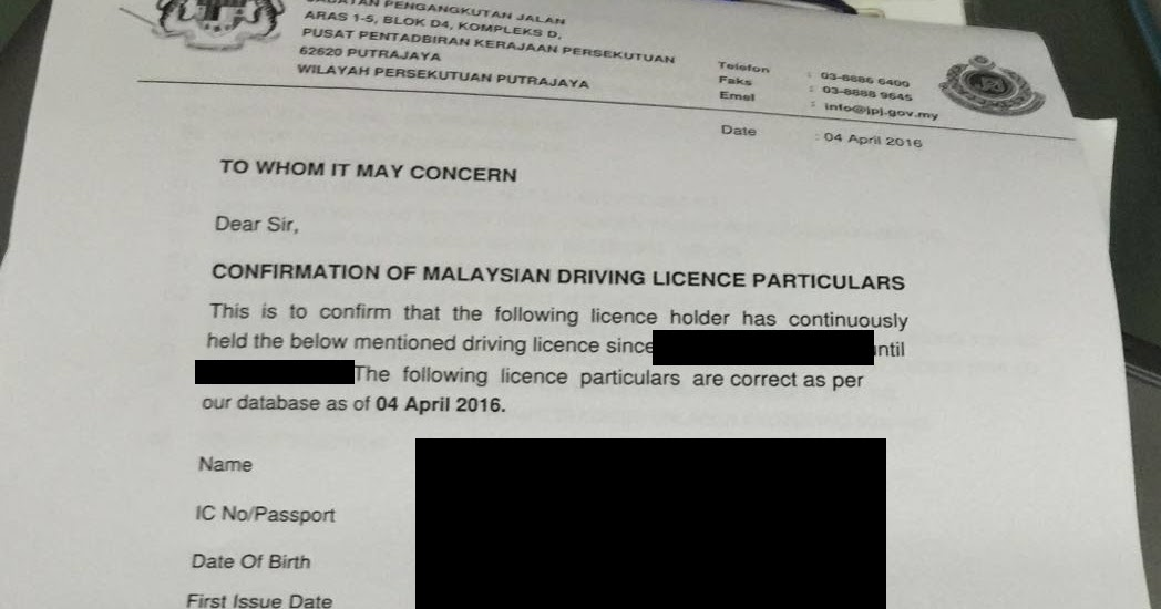 Strobist999 How to convert your Malaysia driving license