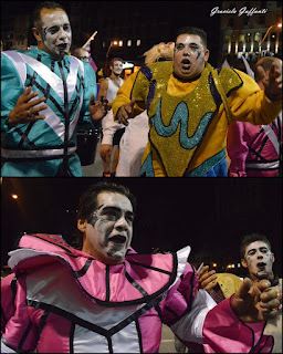 Desfile Inaugural del Carnaval. Uruguay. 2017 Murga Línea Maginot