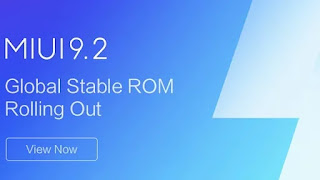 Xiaomi Rolling out MIUI 9.2 Global Stable ROM to Smartphones With MIUI 9