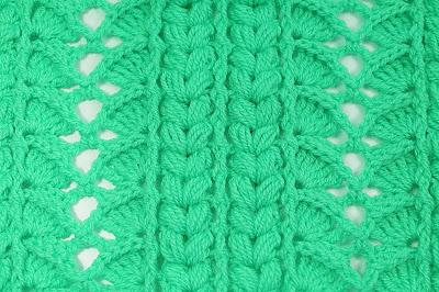 3 -Crochet Imagen Majovel crochet puntada para cobijas, mantas , jerseis y chambritas.