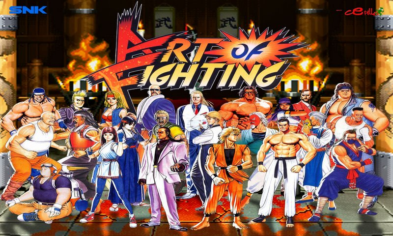 Art of Fighting Game Coming To The Nintendo Switch.