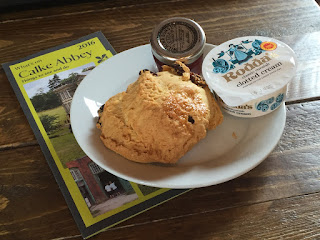 Calke Abbey scone