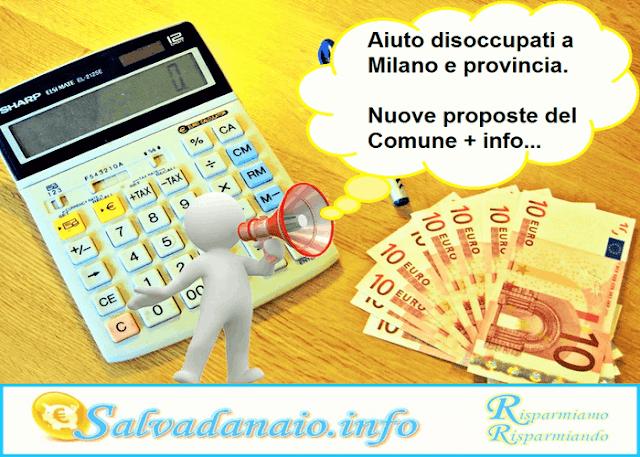 Aiuto disoccupati Milano: proposte del Comune