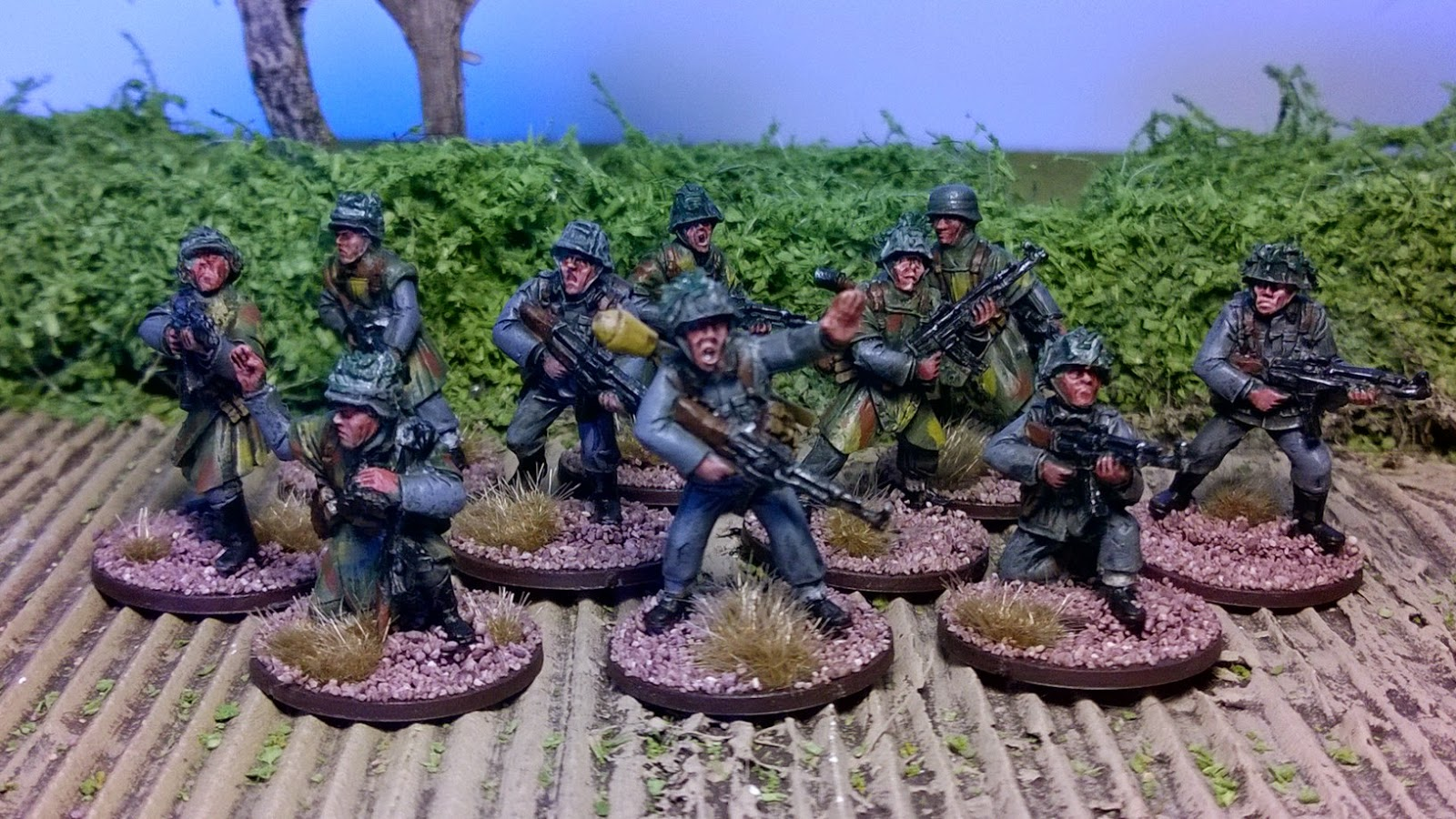 ww2 german grenadier warlord games