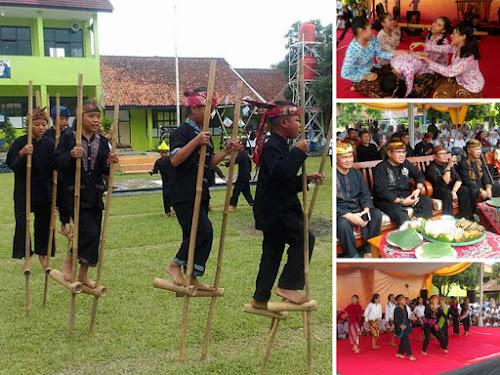 Festival Kaulinan Budak Lembur di SMAN 1 Soreang