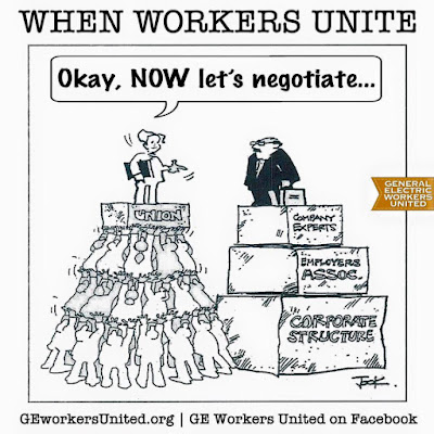 Image result for trade unionists cartoon