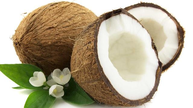 wallpaper buah kelapa