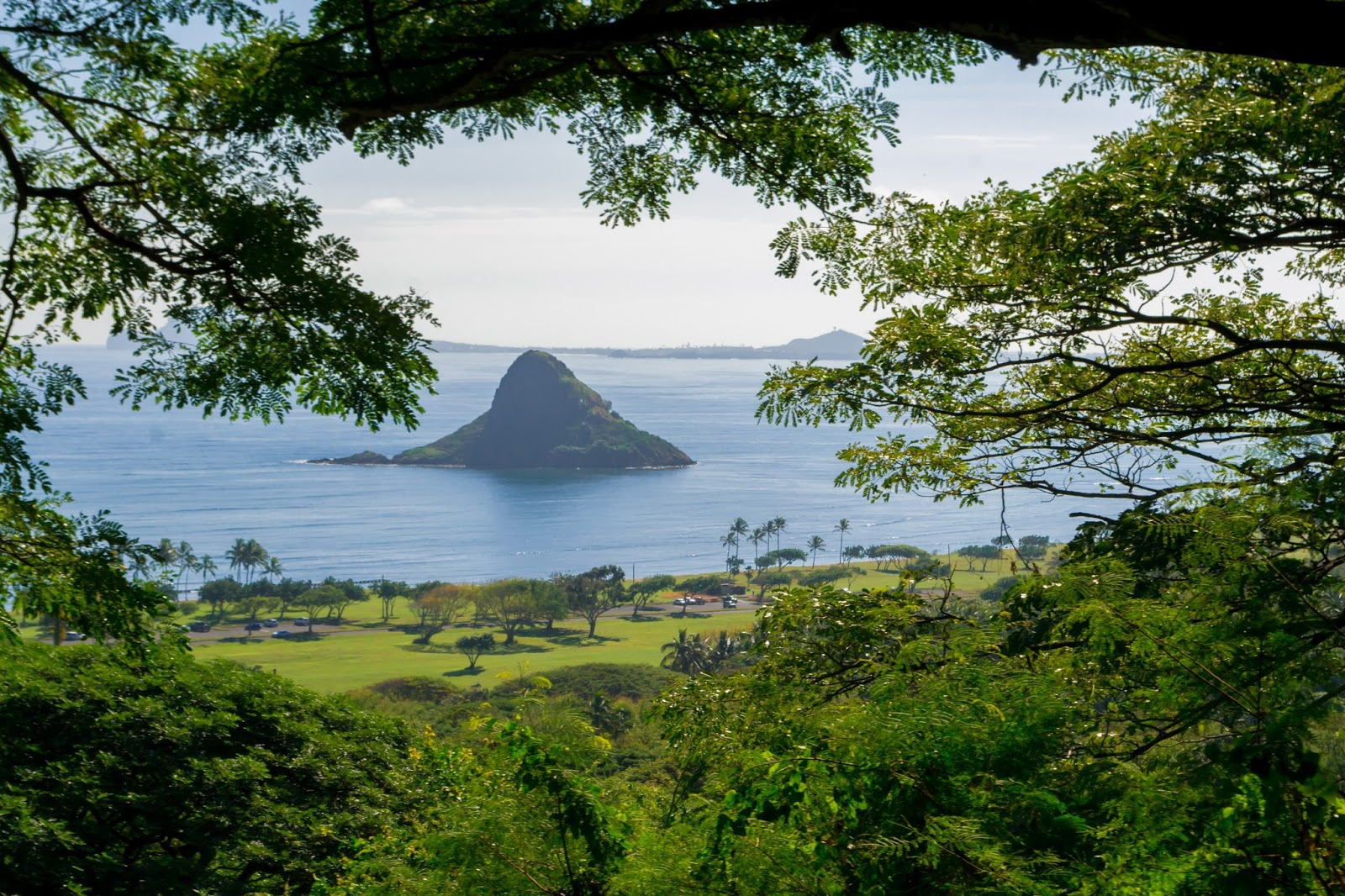 Chinaman's Hat from Kualoa Ranch