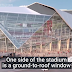 Atlanta's new Mercedes-Benz Stadium has a retractable roof.