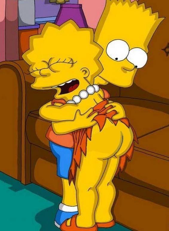 Порна мультфильм симпсоны