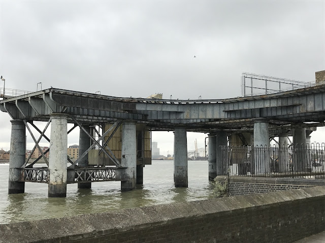 Coal jetty, Greenwich Power Station, London