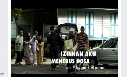 Sinopsis telemovie Izinkan Aku Menebus Dosa TV9, pelakon dan gambar telemovie Izinkan Aku Menebus Dosa TV9