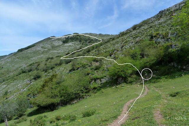 Subiendo al Pico Cabezu
