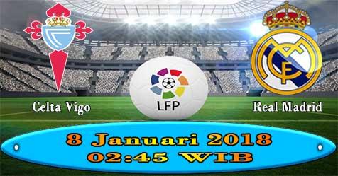 Prediksi Bola855 Celta Vigo vs Real Madrid 8 Januari 2018