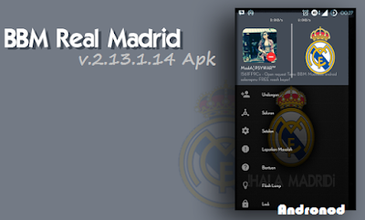 Download BBM Mod Real Madrid v2.13.1.14 Apk Terbaru