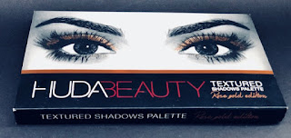 Huda Beauty Rose Gold Textured Shadows Palette | Review & Swatches