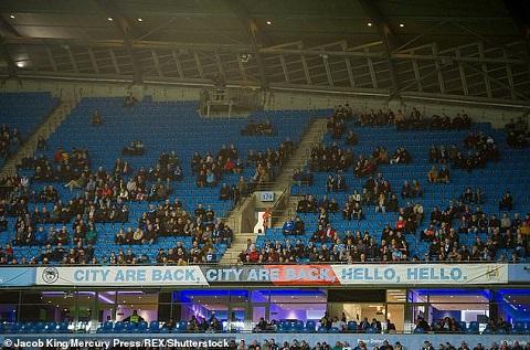 SVĐ vắng khán giả của đội bóng Man City