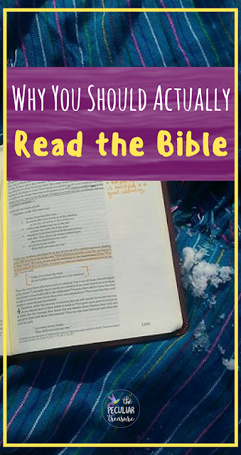 Why you should actually read the bible. #bible #scripture #faith