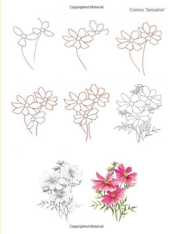 Tutorial Menggambar Bunga