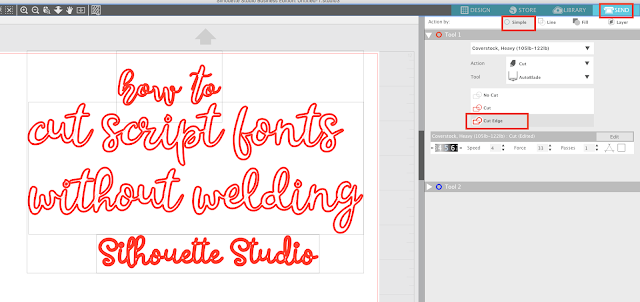 silhouette studio new fonts, add fonts silhouette studio, silhoutte cameo, silhouette blog