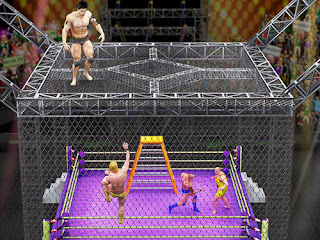 Cage Wrestling Revolution: Ladder Match Fighting Mod APK (unlimited Money)