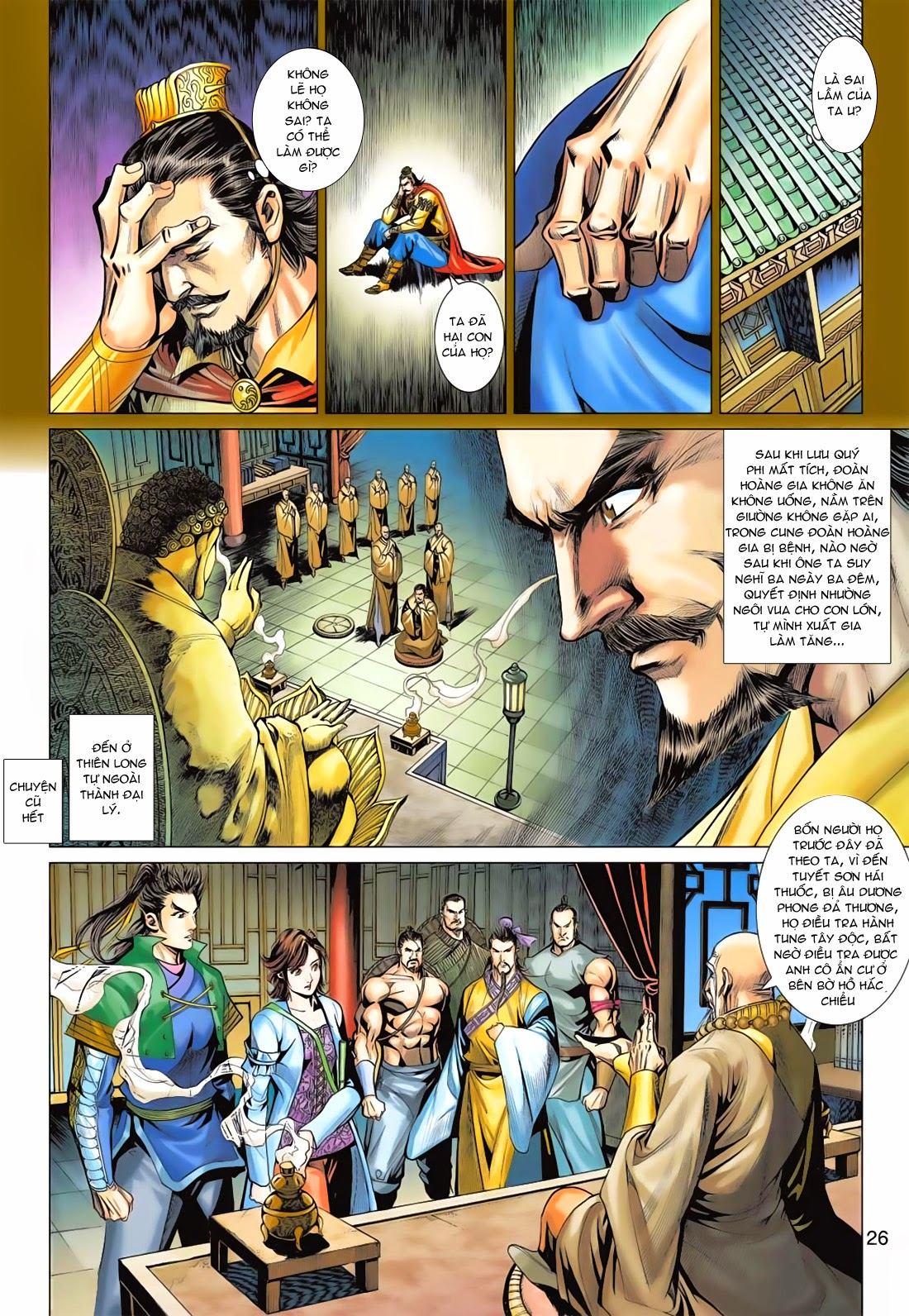 Anh Hùng Xạ Điêu anh hùng xạ đêu chap 78: sát anh trang 26
