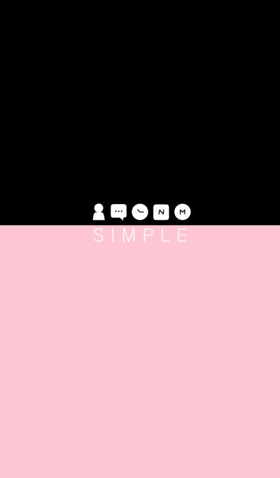 SIMPLE(black pink)V.9