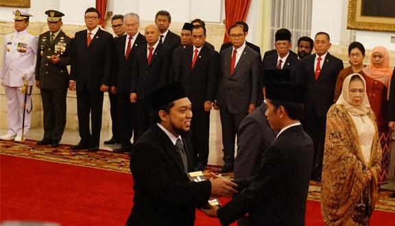 Jokowi Beri Gelar Pahlawan Nasional kepada Tokoh NU