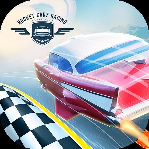 تحميل لعبه Rocket Carz Racing - Never Stop مهكره اخر اصدار
