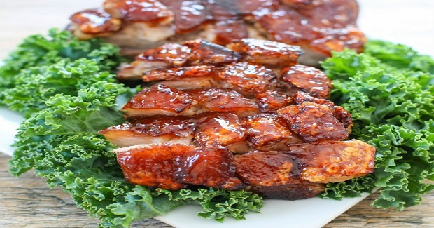 Crispy Pork Belly With Sriracha Glaze Recipe
