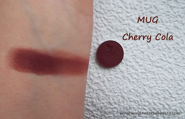 cherry cola makeup geek swatch