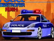 لعبة عربة الشرطة